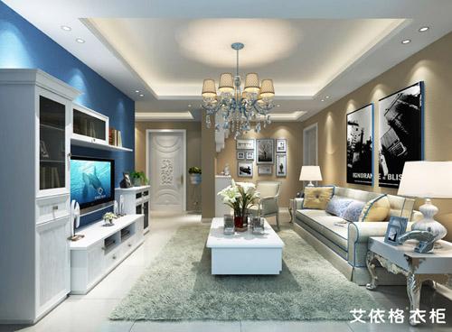 艾依格衣柜加盟:白色家具配这样的地板最气质最个性