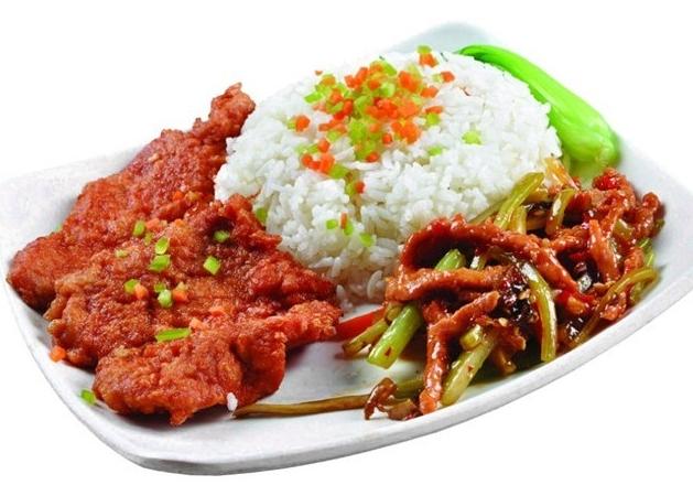 艾大米中式快餐,健康美味新感觉图片